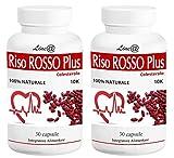 RISO ROSSO PLUS K10 Fermentato 60 capsule (trattamento PER 2 MESI) si prende CURA del TUO CUORE, abbassando il TUO COLESTEROLO!