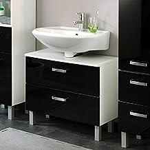 Badezimmermöbel schwarz  Suchergebnis auf Amazon.de für: Badezimmermöbel in Schwarz