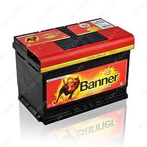 Batterie BANNER 12V 74Ah 680A POWER BULL - P7412