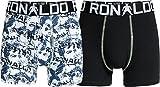 CR7 Cristiano Ronaldo BOYS - Boxers pour garçons - 2-Pack (CR7-8400-5100-484) - Taille 146/152