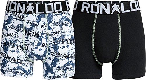 CR7 Cristiano Ronaldo BOYS Boxershorts Jungen 2-Pack (CR7-8400-5100-484-116/128)
