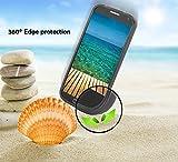 Cadorabo - TPU X-line Style Silikon Hülle für HTC ONE (M9 - 3.Generation) - Case Cover Schutzhülle Bumper in OXID-SCHWARZ -