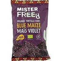 Mister Free d Tortilla chips mais bleu Le paquet de 150g - Livraison Gratuite pour les commandes en France - Prix...
