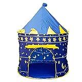 Kinderzelt Serria tragbares Spielzelt, Prinzenschloss Zelt für Jungs Kleinkinder, Spielhaus...