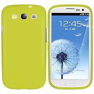 mumbi TPU Skin Case Samsung Galaxy S3 i9300 Silikon Tasche Hülle - Silicon Protector Schutzhülle grün