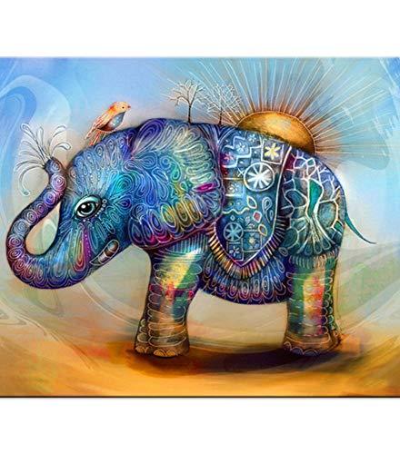 WACYDSD Puzzle 1000 Piezas Elefante De Dibujos Animados Juego De Rompecabezas Clásico Bricolaje Juguete De Madera Decoración para El Hogar