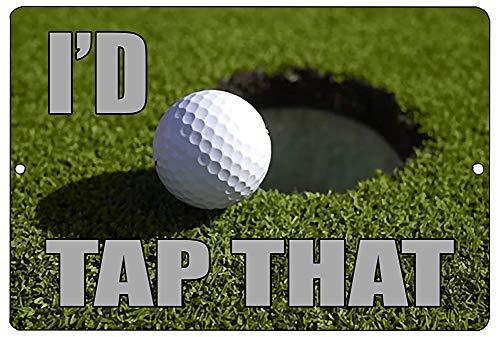 SIGNCHAT Lustiges Golf-Metall-Blechschild mit Aufschrift