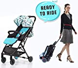 #2: R for Rabbit Pocket Stroller Lite - The Most Portable Baby Stroller and Pram for Baby/Kids with No Installation (Blue)