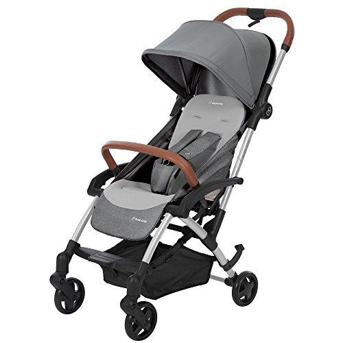Maxi-Cosi Laika Kompakt Buggy, ideal für unterwegs, leicht, kompakt und flexibel, nomad grey/grau