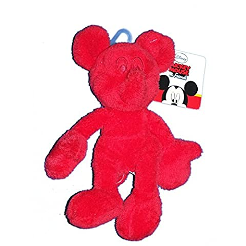 Doudou Peluche Mickey Mouse and Friends rouge - NICOTOY Simba - 587/9229