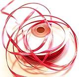 CaPiSo 100m Satinband 3mm Schleifenband,Geschenkband,Dekoband,Satin Hochzeit,Weihnachten
