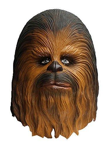 Star Wars Maske (kompletter Kopf) Kostüm - Fasching Party Karneval (Chewbacca)