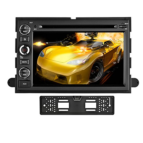 YINUO 7 Pollici Android 5.1.1 Doppio DIN In Dash Quad Core 16GB 1024x600 Lettore DVD (Ford Explorer Manuale)