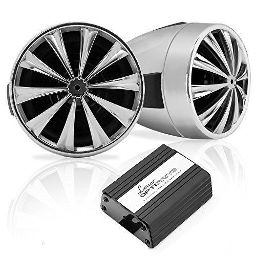 Pyle Opti-Drive Lautsprechersystem (700 Watt, Bluetooth, 4 Kanal Verstärker) 700w Car Subwoofer