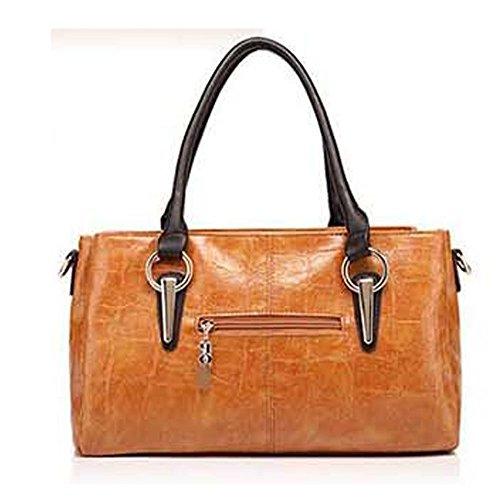 Damen Handtaschen Frauen Schultertasche Messenger Bag_Beige Keral zzUNyn0CR