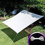 Copertura per il controllo della privacy del balcone   Copertura dello schermo per la protezione dai raggi UV, Coperture per piante da esterno in serra a rettangolo bianco, 85%, shade cloth sun mesh s