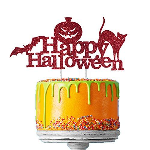 Topper para Tarta Happy Halloween