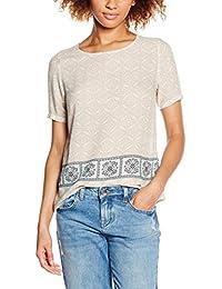 VILA CLOTHES Damen T-Shirt Visteps S/S Top