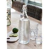 Cristal Botella De Agua Del Grifo Con Swing Top cerámica Top–100% grifo
