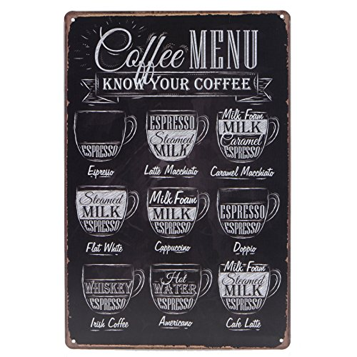 Store2508™ Vintage Metal Tin Sign Plaque Wall Art Poster Sheet For Home Cafe Bar Pub Beer (30x20 Cms). (15)