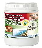Atmos 7213 Activateur Biologique Longue Duree Poudre-Pot De 500Gr, Blanc