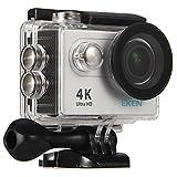 Eken H9Kamera Sport wasserdicht 4K WiFi Kamera mit Video 4K 2,7K 1080P 60720P 120fps 12MP Foto und Weitwinkelobjektiv 170. Onboard Action Kamera. Lieferung mit der accéssoires
