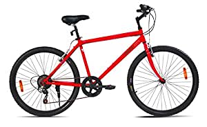 "Mach City iBike 7 Speed 26"" (Matt Red)"
