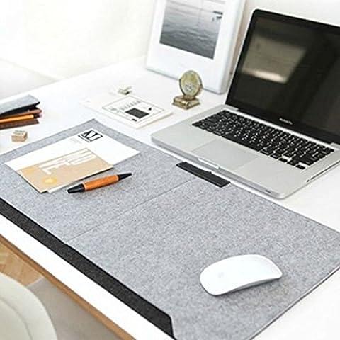 Pink Lizard 640 * 330 millimetri mouse pad calda a doppio strato multifunzione desktop da ufficio con tasche penna supporto & 2