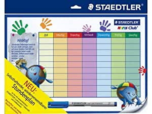 Staedtler 31NC Calendrier en langue allemande Lumocolor
