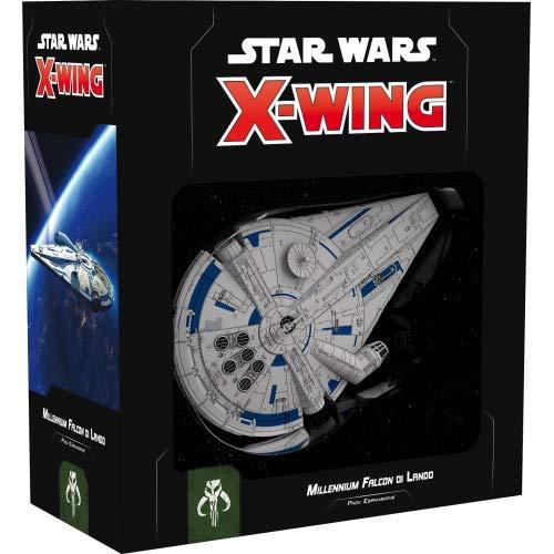 Asmodee Italia- Star Wars X-Wing Millenium Falcon di Lando, Colore, 9926