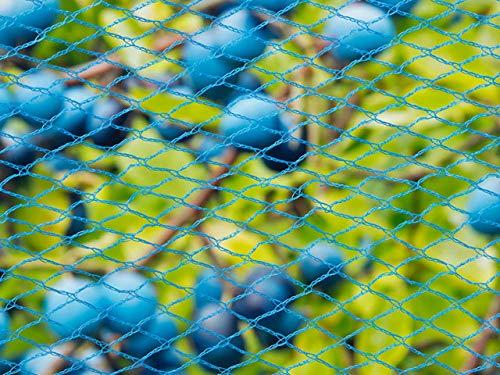 Filet Anti-Oiseaux Nano en Maille tricotée polyéthylène 22gr/m² Bleu 5x2m