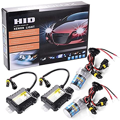 XCSOURCE 55W HID Xenon Light Headlight Lamp Conversion Kit H7 8000K Replacement Bulb (Kit Xenon Bi)