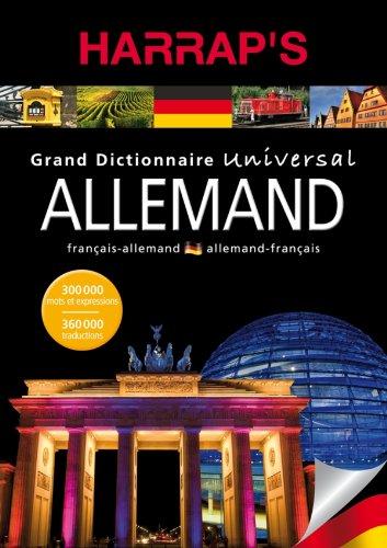 Grand dictionnaire universal allemand par Harrap