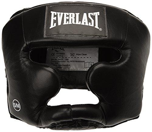 Everlast 350 - Casco de protección para boxeo negro negro Talla:S/M