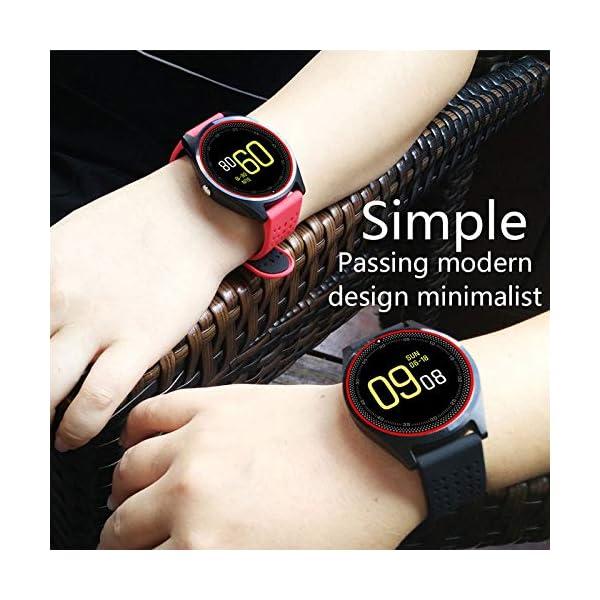 Hanbaili Smartwatch Reloj Inteligente con Ranura de Tarjeta SIM/TF y Cámara, Fitness Tracker, Análisis de Sueño… 2