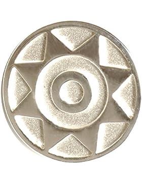 Sterling Silber 925 Sonne Einzel-Ohrstecker / Ohrring