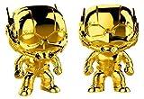 Funko- Pop Bobble Marvel Studios 10: Ant-Man (Chrome) Collectible Figure, 33521, Multcolour