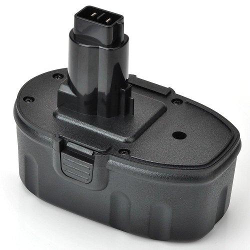DILL - Batteria 18V 3.0Ah Ni-MH per i seguenti modelli Dewalt: DE9098 DC9096 DE9039 DE9095 DE9096 DW9096 DW9095 DW9098 DE9503