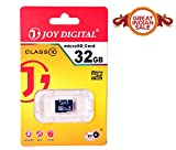 #4: Joy 32 GB Micro SDHC Class 10 Micro SD Card, Ideal Upgrade for portable electronic devices, such as digital cameras, mobile phones, laptop, computers, tablets, PDAs, MP3 players, video game consoles, synthesizers, and electronic keyboards - JOY-MMC-32GB-BLACK