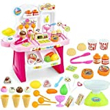 TFPS Choice Supermarket Shop Play Set Toy With Sound Effects, Multi Color