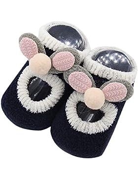 [Patrocinado]ZODOF Calcetines Antideslizantes Lindos del NiñO Calcetines Antideslizantes del Paso del Bebé De Las Medias De...