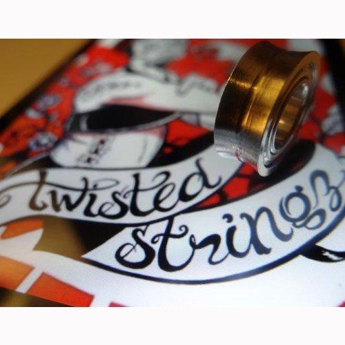 Twisted Stringz Twisted dreierwette Kugellager-.250X .500X .187von Twisted Stringz 0.187