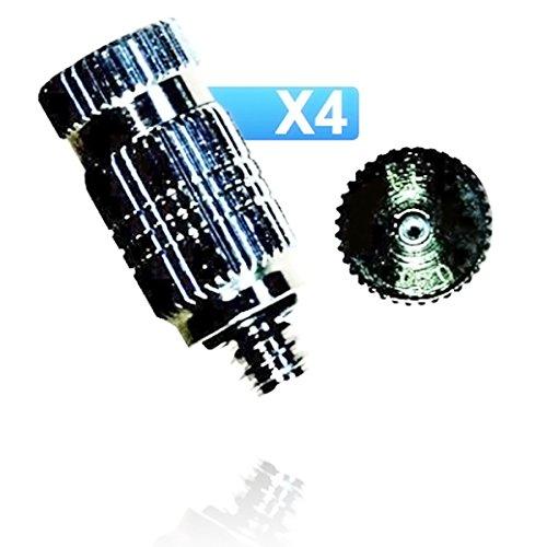 ofresh-075-lot-de-4-buses-anti-gouttes-de-brumisation-haute-performance-inox