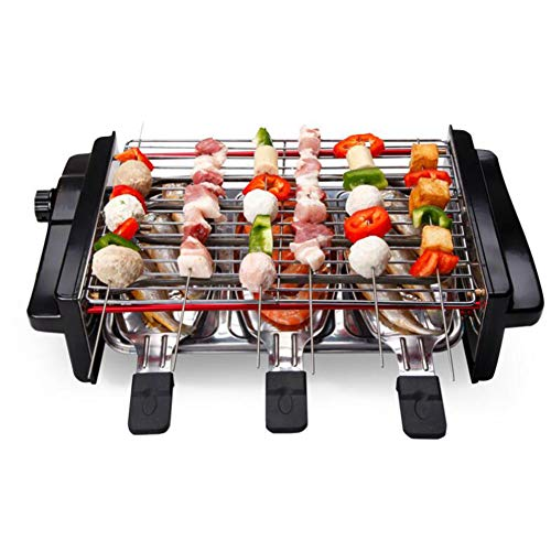 Eléctrico Sin humo Parrilla para interiores Utensilios de cocina de olla caliente multifunción Wok saludable