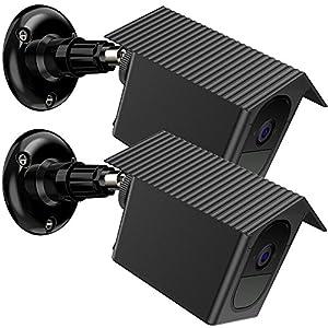 EEEKit Fixation Murale 2 Packs pour Arlo Pro 2 / Arlo Pro, Fixation Murale Plafond 360 ° Fixation étanche extérieure/intérieure Valise de Protection pour caméra de sécurité Arlo Pro 2 / Pro