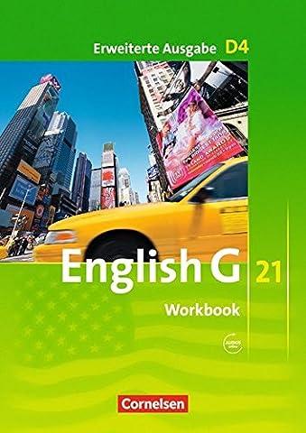 English G 21 - Erweiterte Ausgabe D: Band 4: 8. Schuljahr - Workbook mit CD