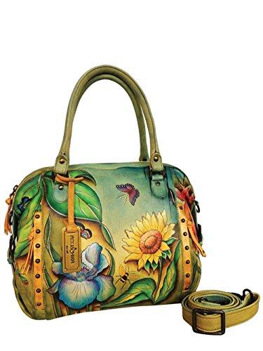 anuschka-femme-designer-cuir-sac-a-main-unique-sunflower-