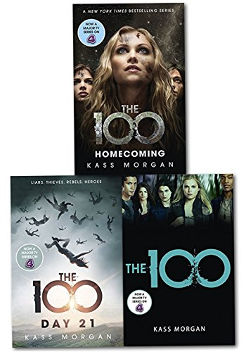 Kass Morgan, The 100 Series Collection 3 Books Set - the 100, Days 21, Homecoming