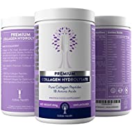 Highest Quality Hydrolysed Collagen with 100% Pure Protein Peptides from Trusted UK Seller (beware cheaper or inferior products that aren't tasteless)