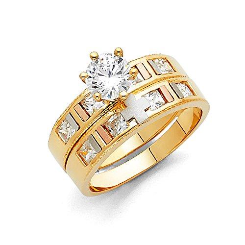 Paradise Jewelers - Anillo de compromiso de...